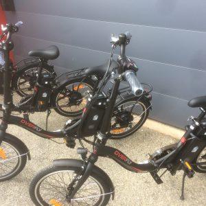 Vélos à assistance électrique pliable